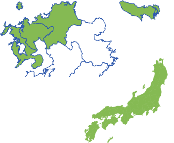対象エリア:福岡、佐賀、長崎、佐世保、東京